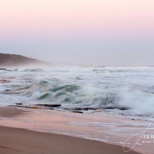 Pink Sunset Seascape